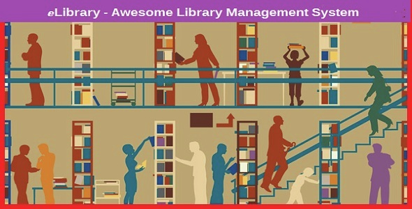 eLibrary - Awesome Library Management System
