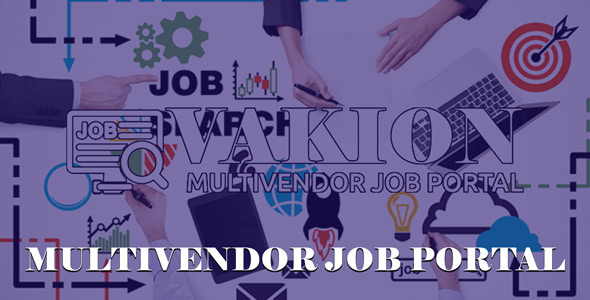 Vakion - Multi Vendor Job Portal