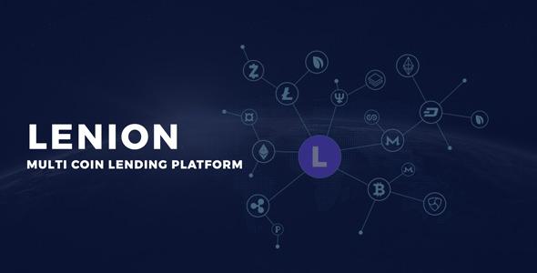 Lenion - MultiCoin Lending Platform