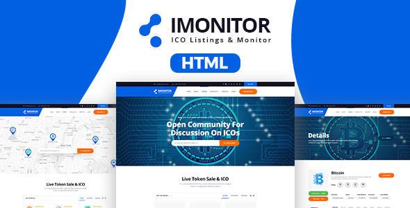 Imonitor - Ico Listing HTML Templates