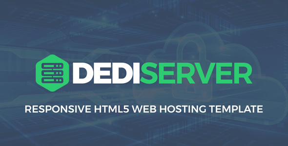 DediServer - WebHosting HTML5 Responsive Template