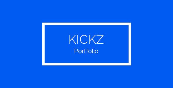 Kickz - Portfolio HTML Template