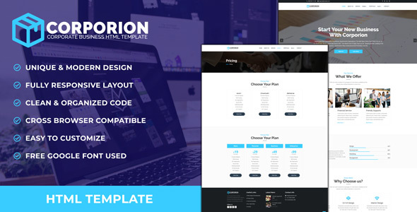Corporion - Corporate Business HTML Template
