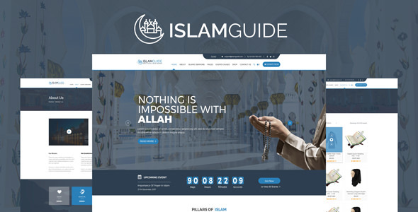 IslamGuide - All About Muslim Religious HTML Templates