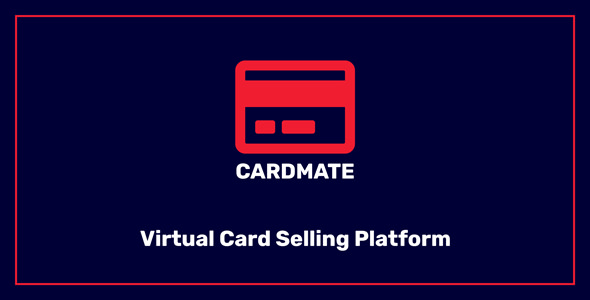 CardMate - Virtual PrePaid Card Selling Platform