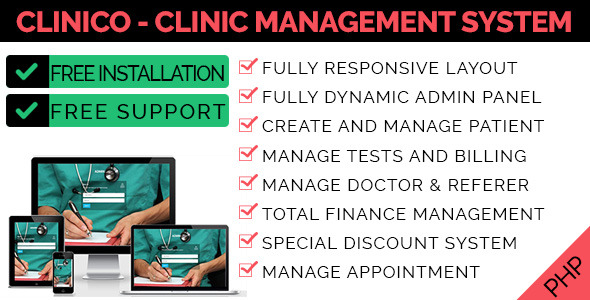 Clinico - Clinic Management System