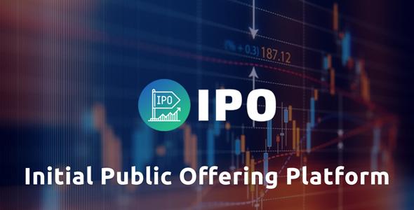 IPO - Initial public offering Platform