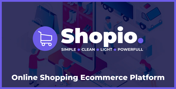 Shopio - Online Shopping Ecommerce Platform