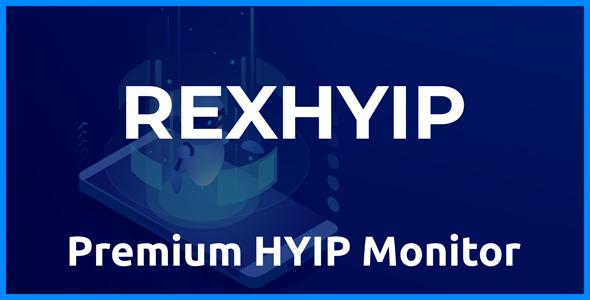 RexHYIP - Premium HYIP Monitor