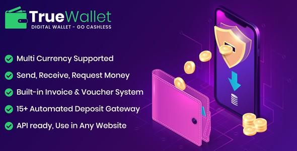 TrueWallet - Online Payment Gateway PHP Script