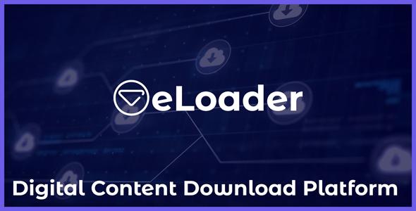 eLoader - Digital Content Download Platform