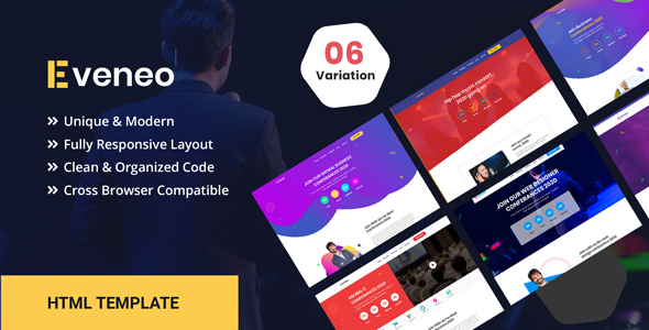 Eveno - Multipurpose Event HTML Template