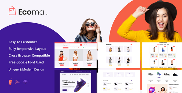 Ecoma - Ecommerce Template